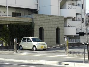 某マンション・駐車場(ゲート)_No1_